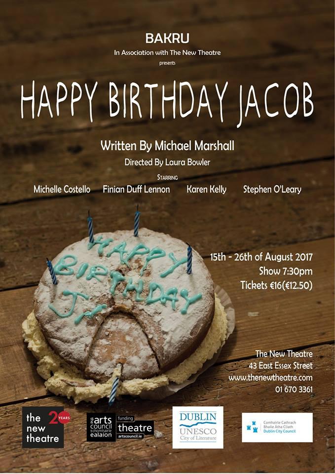 Happy Birthday Jacob Poster